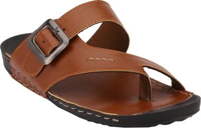 Shoe Smith Men Tan Sandals