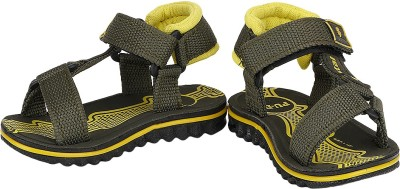 Buds N Blossoms Baby Boys, Baby Girls Green, Yellow Sandals