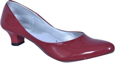 Stylish Step Women Maroon Heels