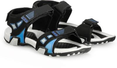Corpus Men Black, Blue Sandals