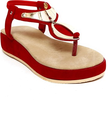 Creative Style Women Red Flats