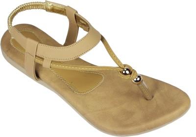 Canvera Women Beige Flats
