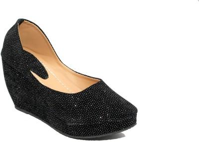 Stylish Step Women Silver Wedges