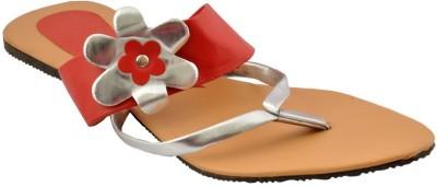 Bootwale Women Red Flats