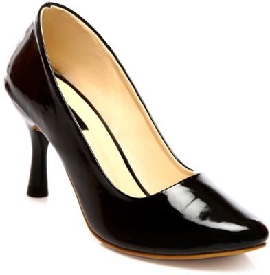 Nshell Women Black Heels