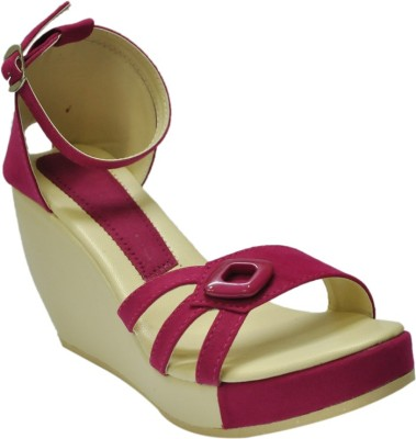 Select GSB_1803_Magenta Women Pink Wedges