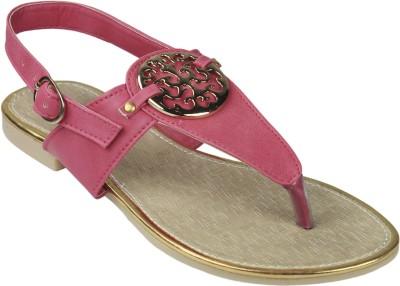 Leatherworld Women Pink Flats