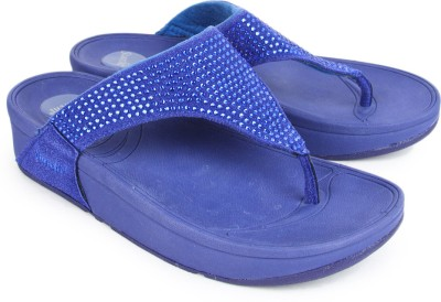 Starchi Women Blue Wedges