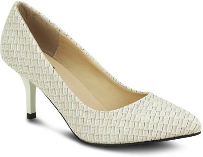 Get Glamr Designer Women Beige Heels
