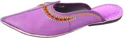 DFR Women Purple Flats