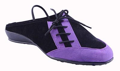 Fabme Women Purple Flats