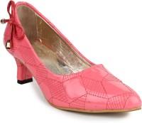 DJH Women Pink Heels