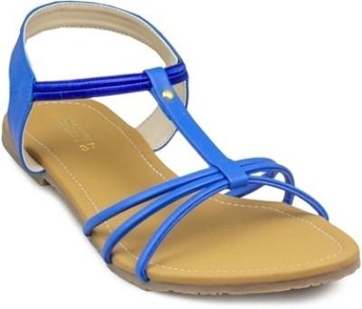Gaiety Women Blue Flats