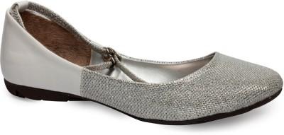 La Zilver Women Silver Sandals