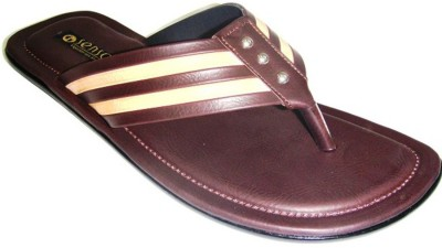 Senso Vegetarian Mens Casual and trendy V-Shaped Brown Men Brown Sandals