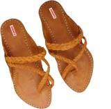 Sushito Men Tan Sandals