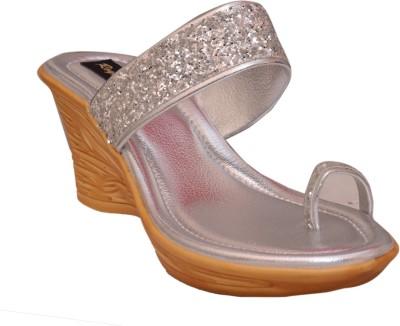 Royal She Women Silver Heels