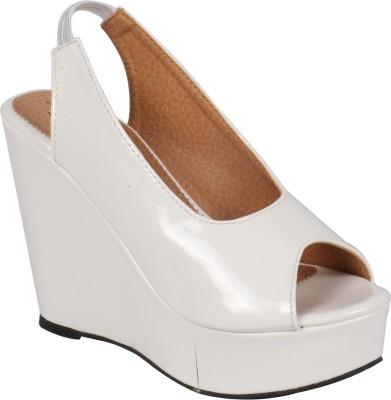 Pantof Girls White Sandals