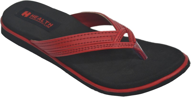 Health Line Women Red Flats