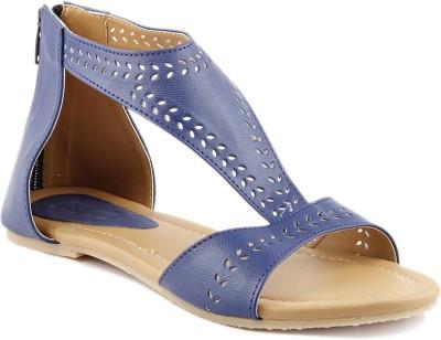 Wellworth Women Blue Flats