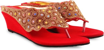 Anand Archies Women Red Wedges