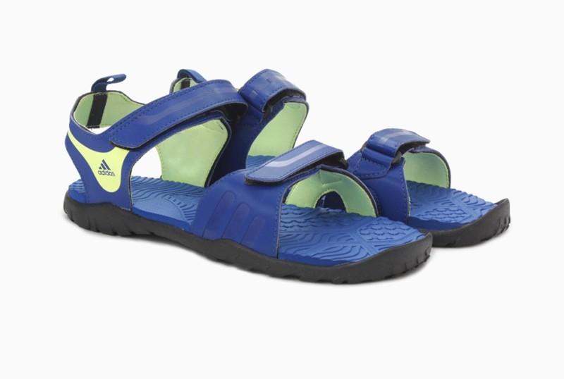 Adidas Women EQTBLU/NTNAVY/LTFLYE/CBLA Sports Sandals