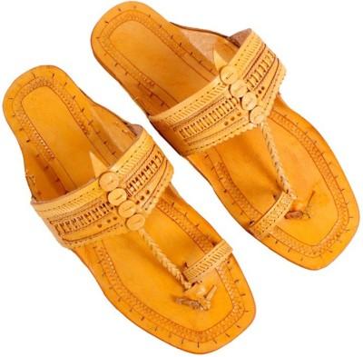 Sushito Men Yellow Sandals