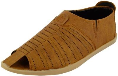 DA-DHICHI Men Beige Sandals