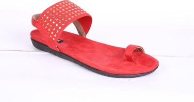 karizma shoes Women Red Flats