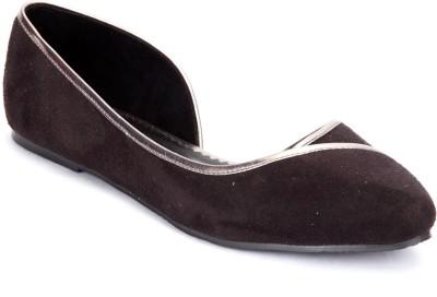 Shibha Footwear Women Brown, Maroon Flats