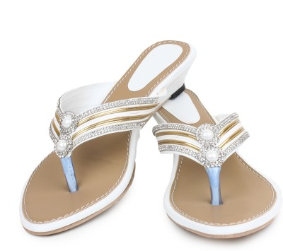 ZAAK Women White Flats