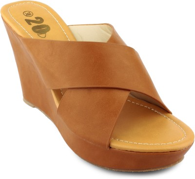 20Dresses Women Tan Wedges