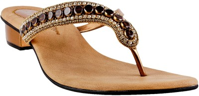 MSL Women Gold Heels