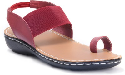 E-Lyte Sandal 66063 Women Red Flats