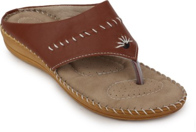 Metrogue Women Women Brown, Yellow Flats