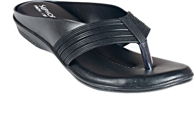 Liberty Women Black Flats