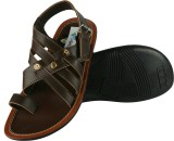 IShoes Men Brown Sandals