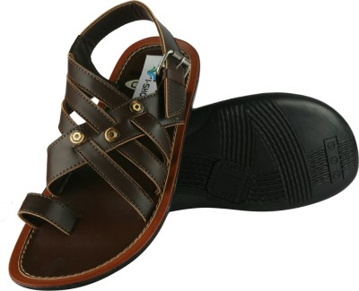 IShoes Casual Sandal Men Black, Brown Sandals