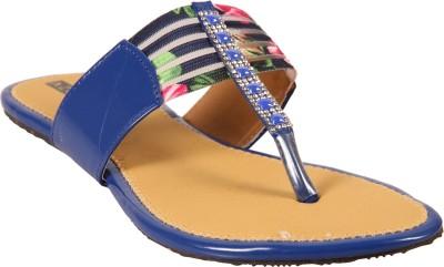 Azores Women Blue Flats