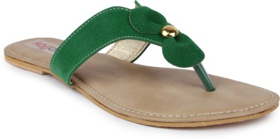 Kajjalli Women Green Flats