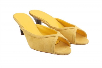 Shoya Designs Women Yellow Heels