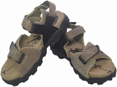 Tim Land Suede Casual Men Olive Sandals