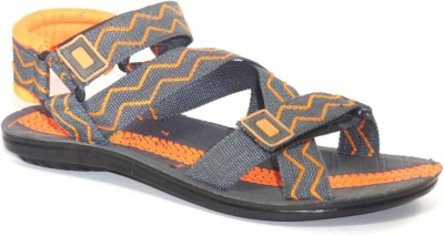 Orbit Men Orange Sandals