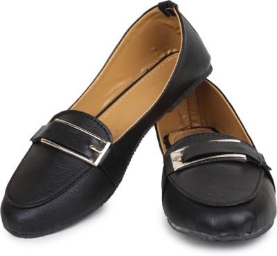 Zaak Women Black Flats