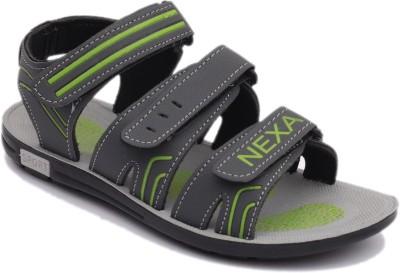 Nexa Men Grey, Green Sandals