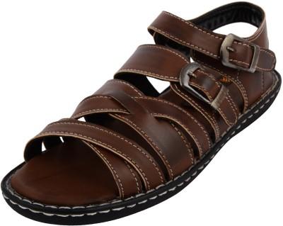 Royal cruzz Men Brown Sandals