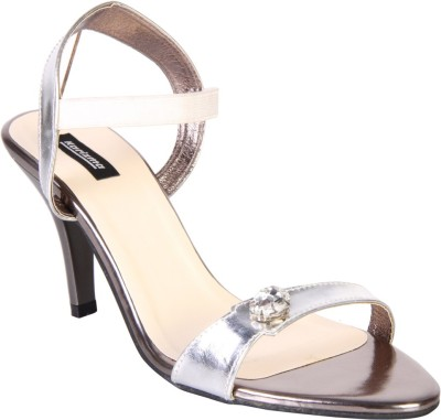 karizma shoes Women Silver Heels