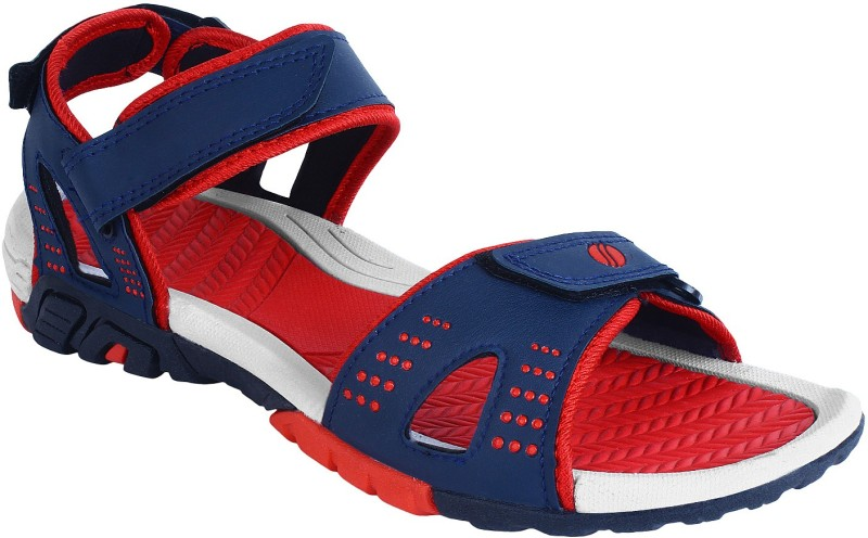 World Wear Footwear Men Blue Sandals