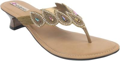 Indulgence Women Gold Heels
