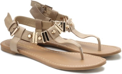 Tresmode Juran Women Women Brown, Gold Flats